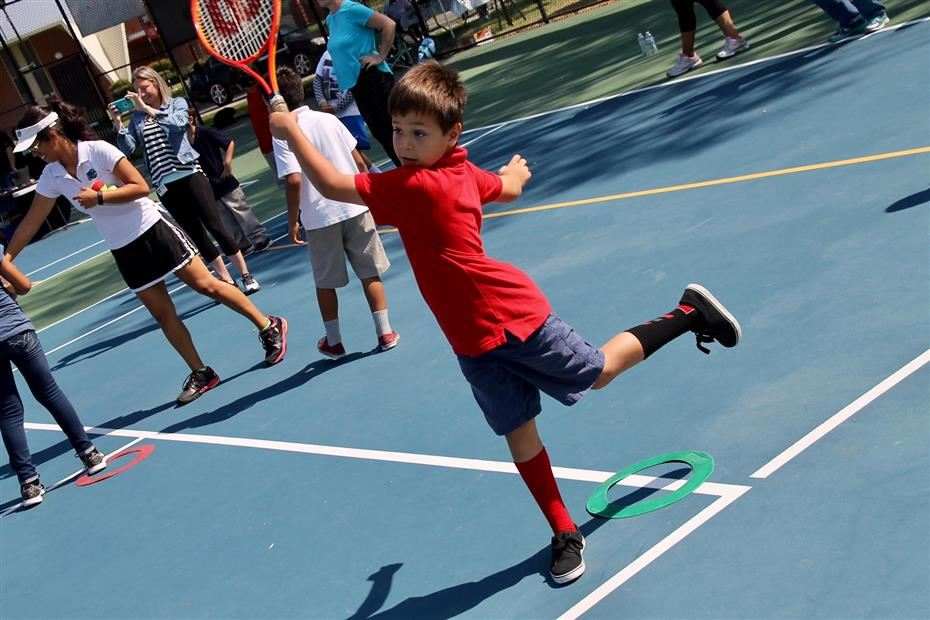 2nd Annual Adaptive Tennis Day Held At Mcfadden Intermediate