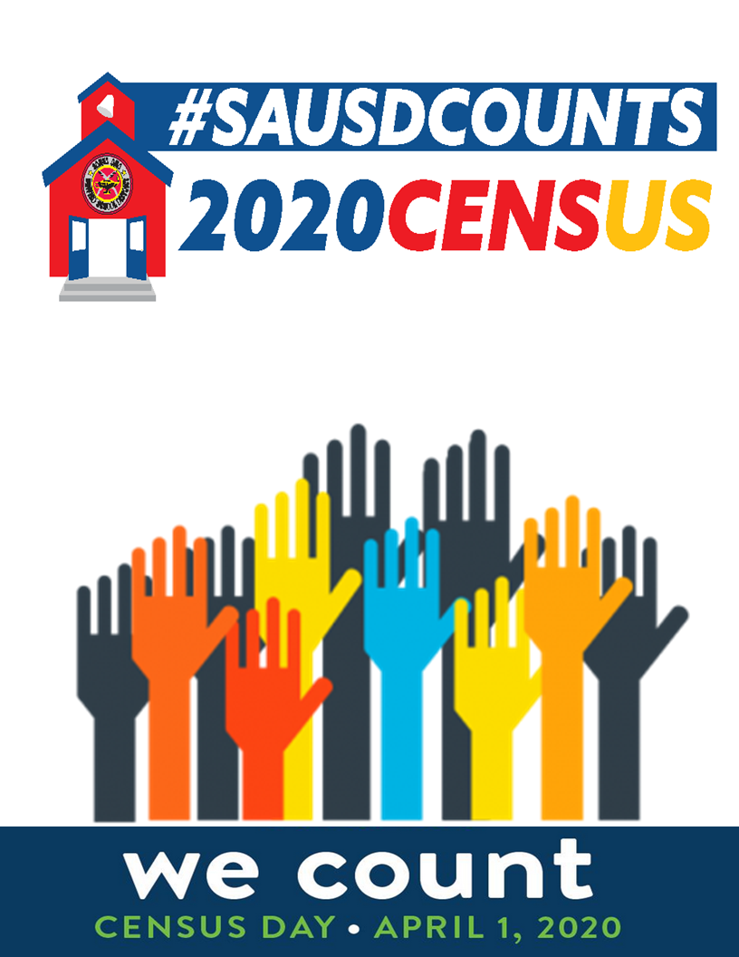 Census 2020: SAUSD Counts!