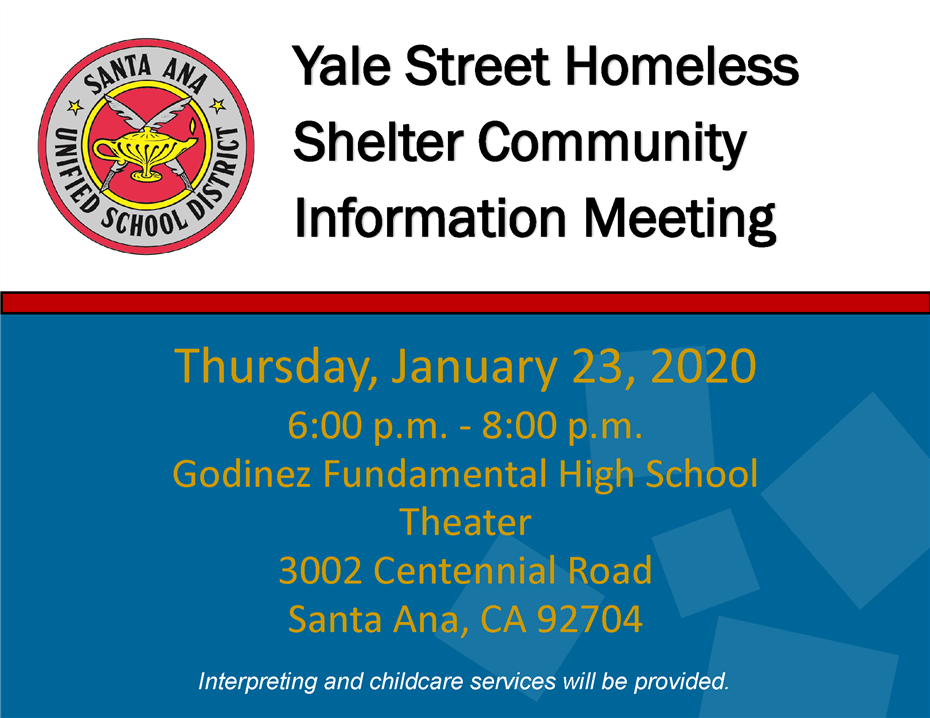 Yale Street Homeless Shelter Community Meeting
