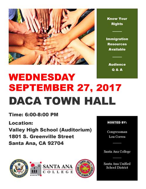 DACA town hall