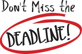 Attention 12th grade students!!! The deadline to submit FAFSA and California Dream Act Applications is tomorrow, March 2!