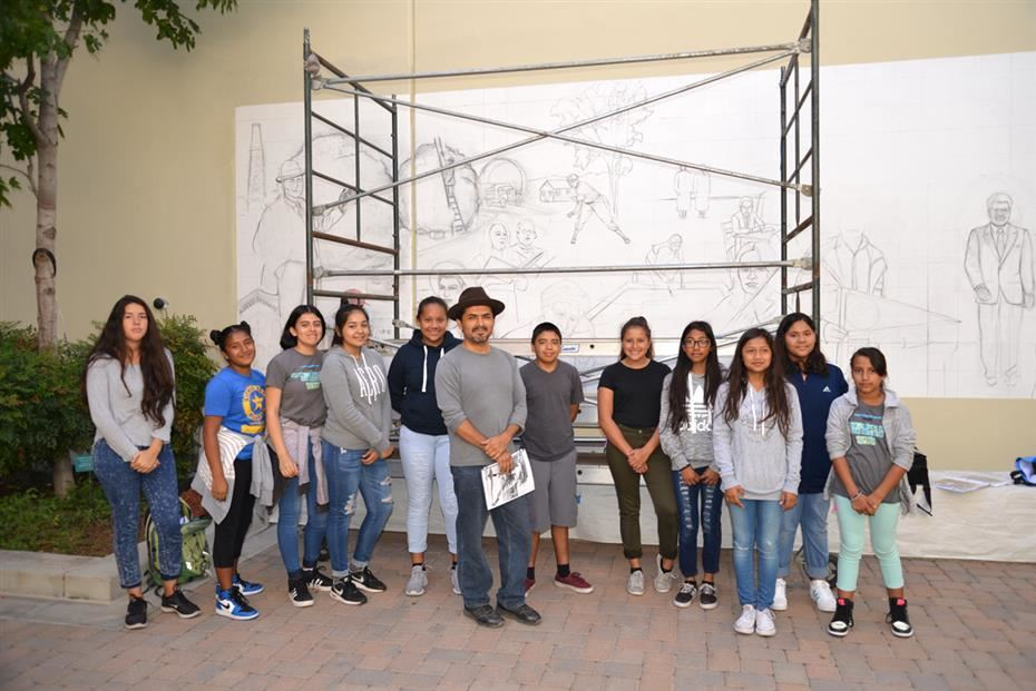Ninety-two AVID students from Sierra Preparatory Academy visited Chapman University this month