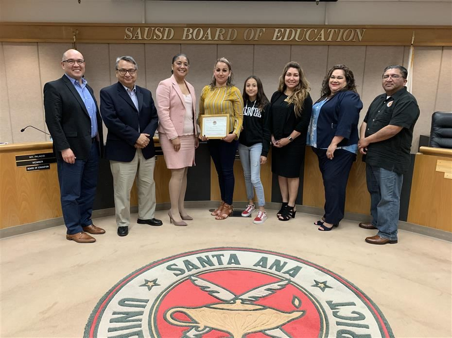 Board of Education Honors March 2019 Employees of the Month