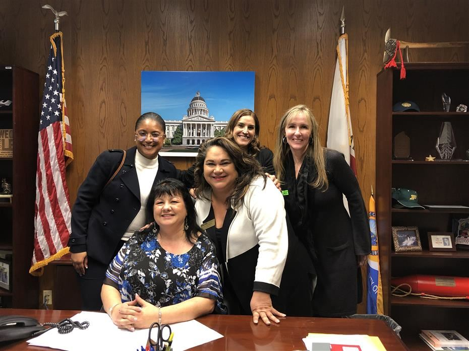 SAUSD leaders visit the Capitol
