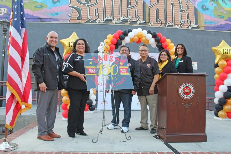 SAUSD Celebrates Start of 130th Anniversary Year with Community Celebration