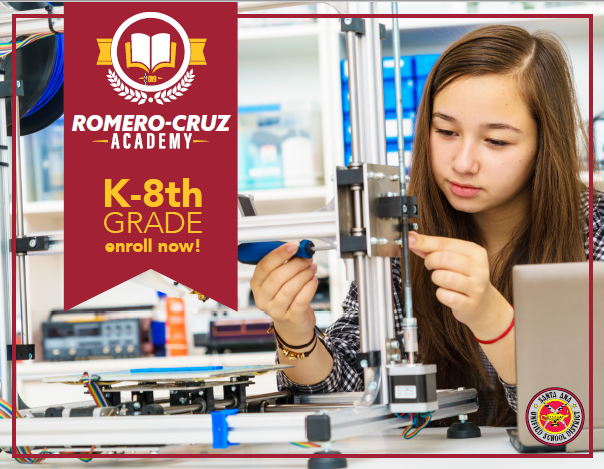 SAUSD to Debut PreK-8 Romero-Cruz Academy in Fall 2019