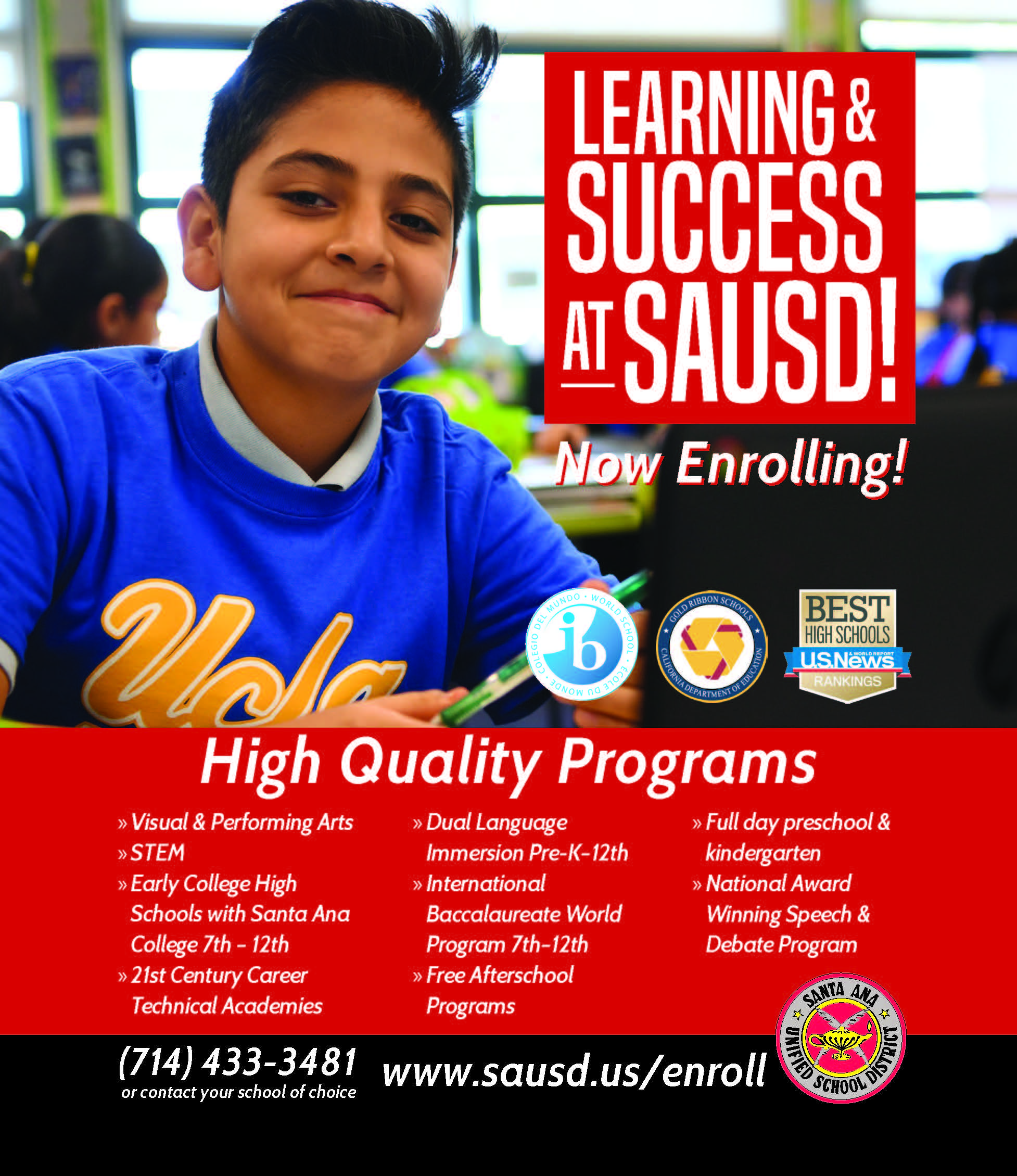SAUSD success
