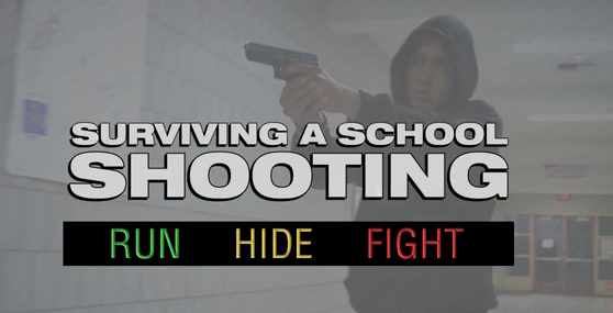 "SAUSD Produced Video ""Run Hide Fight"" for Staff on Preparing for Active Shooters"