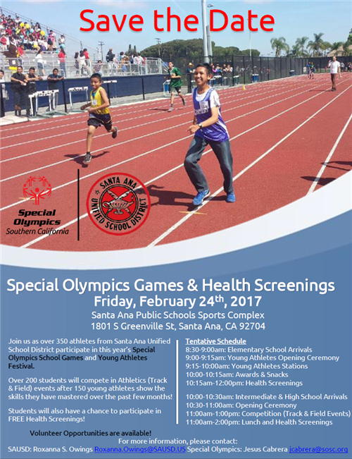 Flyers For Special Olympics Flyer www.gooflyers.com