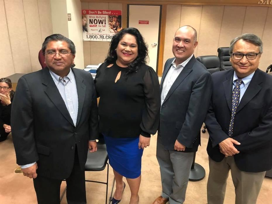 New SAUSD Board Officers Elected