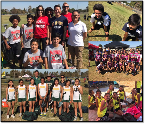 Intermediate Athletes Participate in Cross Country Tournament