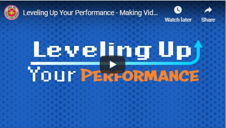 SAUSD Communications Team Creates Videos on How to 'Level Up' Your Video Presentation Skills