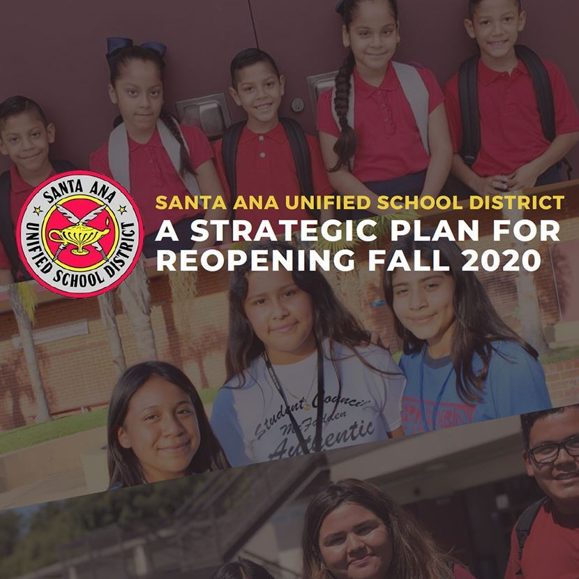 Latest information on SAUSD's plan to safely reopen schools