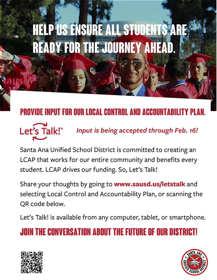 LCAP survey available now