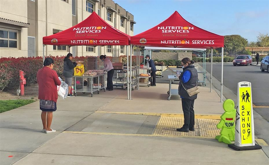 4/3/20 Santa Ana Unified School District Distributes Nearly 300,000 Free Meals to Children During Temporary Campus Closures