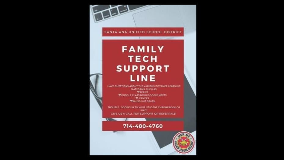 SAUSD Tech Support for Parents