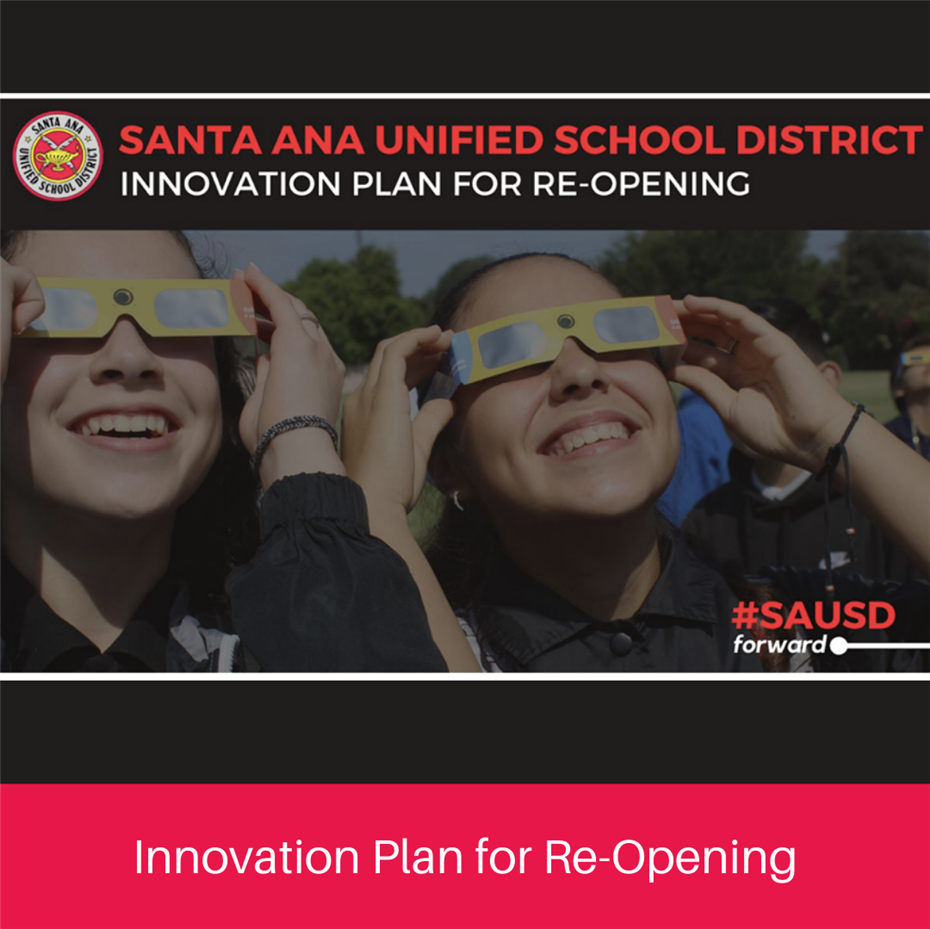 Innovation Plan for Re-opening Schools