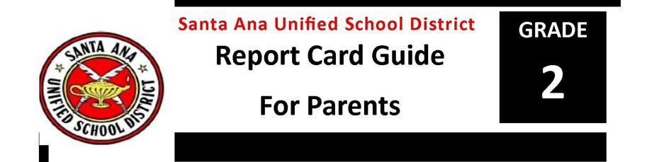 Report Card Guide Grade 2