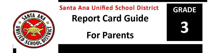 Report Card Guide Grade 3