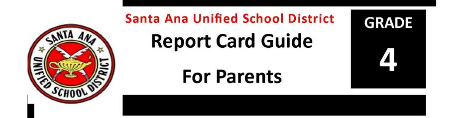 Report Card Guide Grade 4
