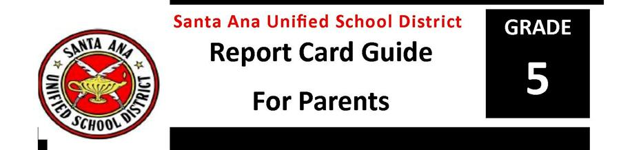 Report Card Guide Grade 5