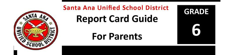 Report Card Guide Grade 6