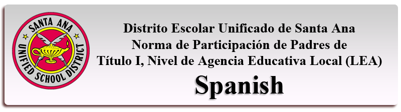 Title I Parent Involvement Policies-Spanish