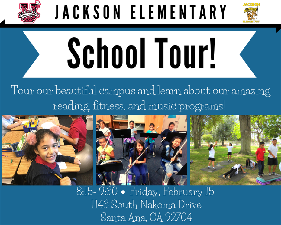 RSVP for our School Tour!
