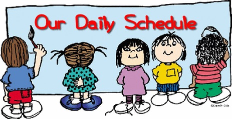 Jefferson's Daily Schedule 2019-2020