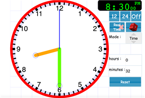 Clock Link for Math