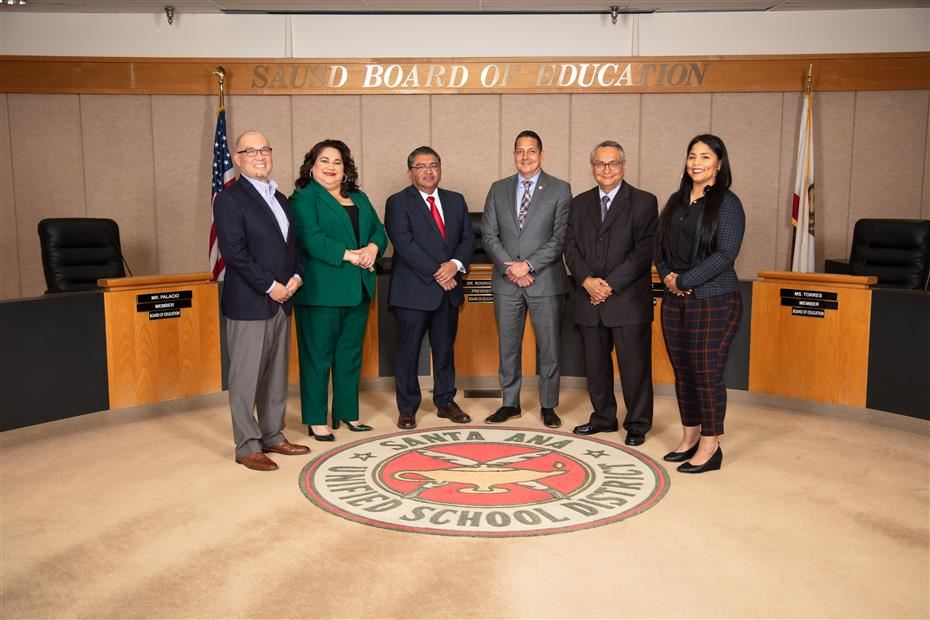 SAUSD Board of Education and Superintendent