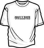 College T-Shirt on Wednesdays