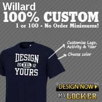 Custom Willard Imprinted Clothing
