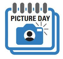 image of a calendar with the words Picture Day