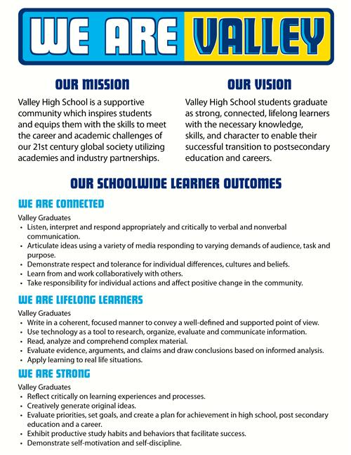 vision mission statement slos vhs mission vision