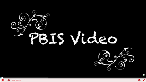 Click to watch our PBIS video