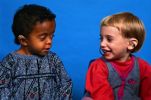 kids with hearing aids
