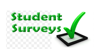 Take the student survey here