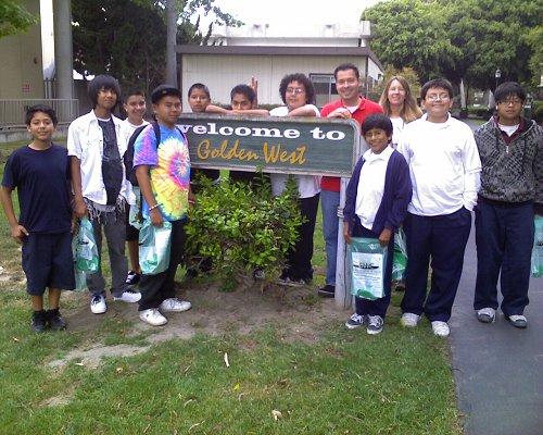 Golden West College Field Trip 2009