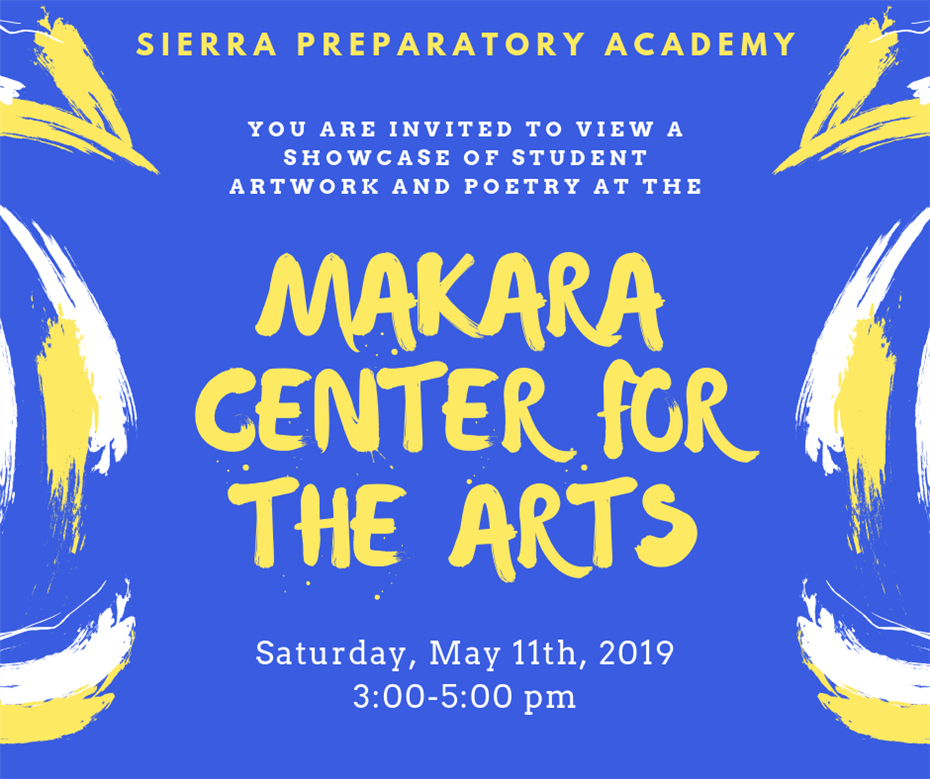 Join us at the Makara Center for the Arts!