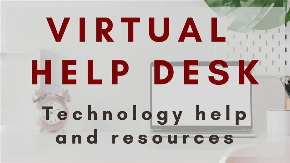 Segerstrom Tech Help Desk