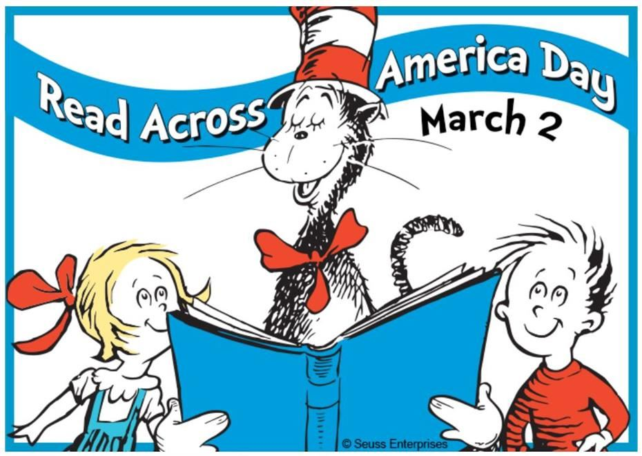 "Join the Celebration - Read Across America Santiago Library's FlipGrid starting March 1st, 2021 ""Select Any Dr. Seuss Book and Read!"""