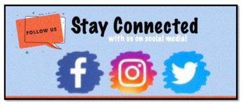 STAY CONNECTED WITH US