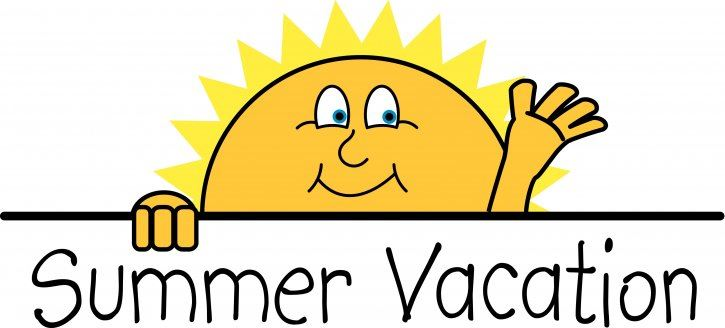ENJOY A SAFE AND HAPPY SUMMER! SCHOOL RESUMES ON MONDAY, AUGUST 12, 2019
