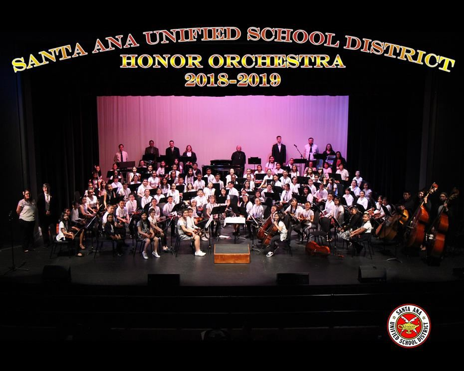 SAUSD Honor Orchestra