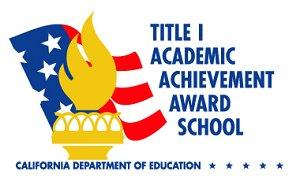 Title 1 Achievement Award
