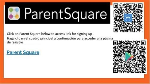 Parent Square signup