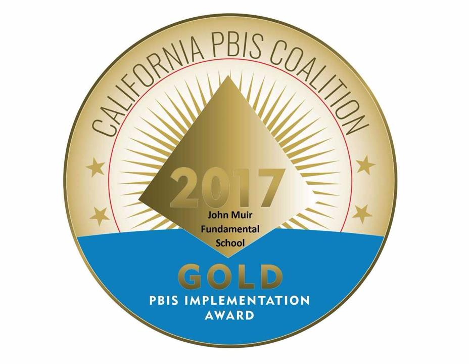 Muir-PBIS Gold Star School!