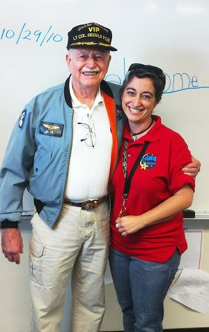 Col. Gerald P. Carr and Ms. Hefner