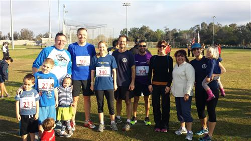 Mendez Staff Run & Walk for Health